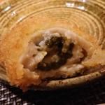 葉隠亭 - カキ断面