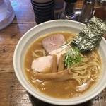 麺や金座 - 濃厚鶏白湯らーめん大盛