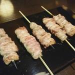 やきとり鶏侍 - 料理写真:せせり