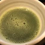 浅草花月堂 - 単品の抹茶。