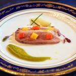 レストラン シャンボール - ■鴨肉の冷製オードブル
