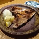 夕 - 天然ブリのカマ塩焼き~大根おろし・レモン~長崎県産 \1200