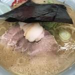 山岡家 - 醤油チャーシュー大盛 ¥1050