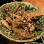 みかん - お野菜と肉を甘辛く煮てる感じの…