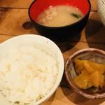 みかん - ご飯とお漬物と味噌汁☆