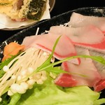 みかん - ぶりしゃぶ用のお野菜と鰤☆
