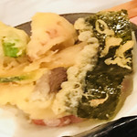 みかん - ぶりしゃぶ御膳についてくる天ぷら