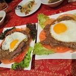 カンボジア家庭料理 シェムリアップ - 牛肉の…
