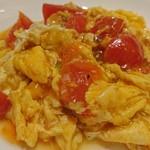 81459953 - 玉子とトマト炒め