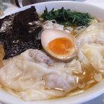 麺処 まるよし商店 - ワンタンメン