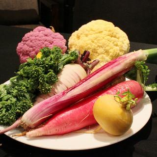 日本全国から届く有機野菜!!