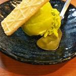 串かつ料理 活 なんばウォーク店 - 抹茶アイス