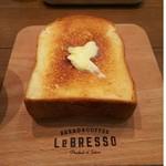 レブレッソ - 厚切りバタートースト