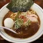 81464071 - 「魚鶏そば(750円)+味玉(100円)」です