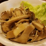 まったり~菜 - キノコのマリネ バルサミコ風味