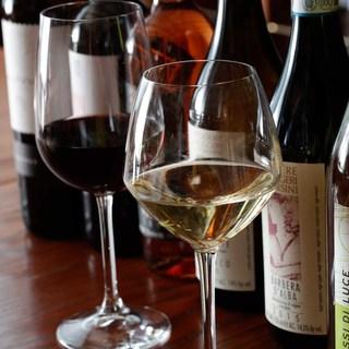 豊富なイタリア直輸入ワイン