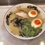 きざん亭 - 煮玉子ラーメン=670円