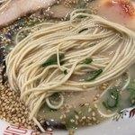 きざん亭 - 麺は こんなん