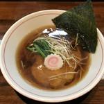 麺処 ほんだ - 醤油らーめん(700円)