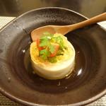禅紫 - 竹の子の豆腐