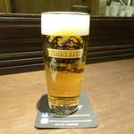 La Soeul AUX BACCHANALES - 生ビール(700円)