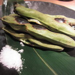 鳳雛 - 焼き空豆
