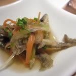 鳳雛 - 稚鮎の南蛮漬け&鰹のつくだ煮UP1