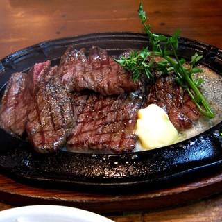 Revo - 料理写真:黒毛和牛 イチボ バター焼き
