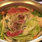 和食・中華 桂翠 - 和牛のしゃぶしゃぶ
