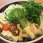 和食・中華 桂翠 - しゃぶしゃぶ用の野菜