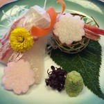 和食・中華 桂翠 - お造りアップ