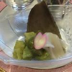 和食・中華 桂翠 - イカと筍の木の芽和え