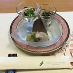 和食・中華 桂翠 - 前菜3種