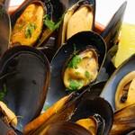 ムール貝の黒胡椒風味
