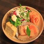エルミタージュ ヤマザキ - カレーモーニング 500円