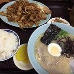 久留米ラーメン福竜軒 - 料理写真:ラーメン定食
