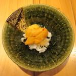旬鮮彩鮨 豊のはなれ - 料理写真:厚岸の雲丹