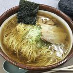 紫波サービスエリア(下り線)スナックコーナー - 料理写真:醤油ラーメン(¥650)+大盛(¥150)
