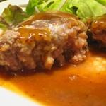 81471588 - 13:00~のまかないハンバーグ、肉汁ドバドバ