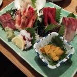 魚寅本店 - 刺し盛3000円