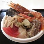 青森魚菜センター - 青森のっけ丼