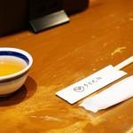 81474359 - お茶とセッティング