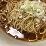 中華そば 四つ葉 - お土産ラーメンの麺は村上朝日製麺