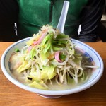 81474721 - 長崎チャンポン(600円)の野菜追加(+100円)