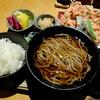 """みよし - 料理写真:""""特製かき揚げと小さなそばの膳"""""""