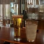 Soba & BAR An - ビールとカボスサワー