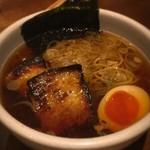 Soba & BAR An - 蕎麦屋のチャーシュー麺