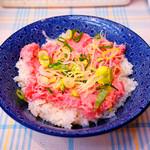 Minatoyashokuhin - ネギトロ丼は500円です。