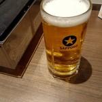 81478535 - 生ビール(黒ラベル)500円