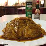 レストラン熊さん - 料理写真:ポークピカタナポリタン